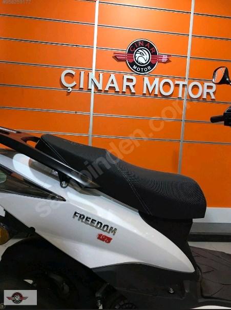 Arora Freedom 125 2021 Model Sıfır Kilometre Senetle Motosiklet 3