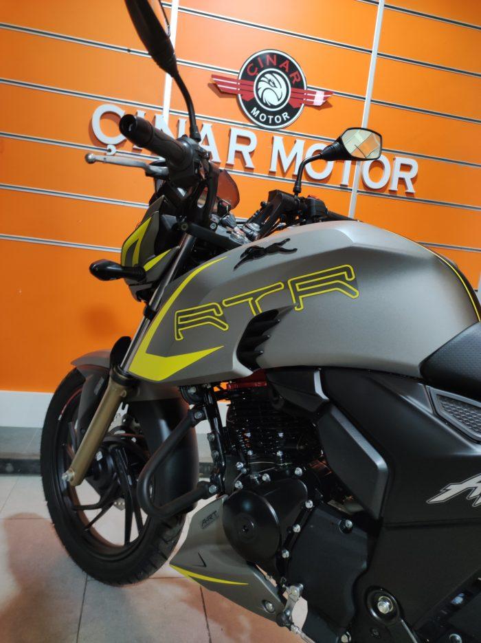 TVS Apache RTR 200 2020 Model Sıfır Kilometre Senetle Motosiklet 17