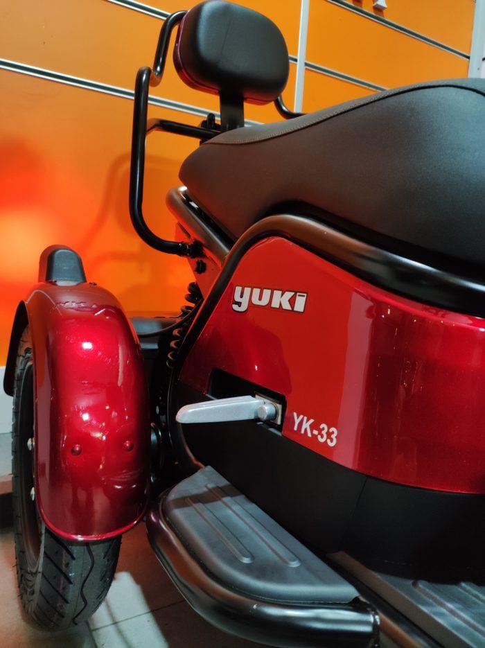 Yuki YK-33 Mario 2021 Model Sıfır Kilometre 900 W Elektrikli 3 Tekerlekli 2