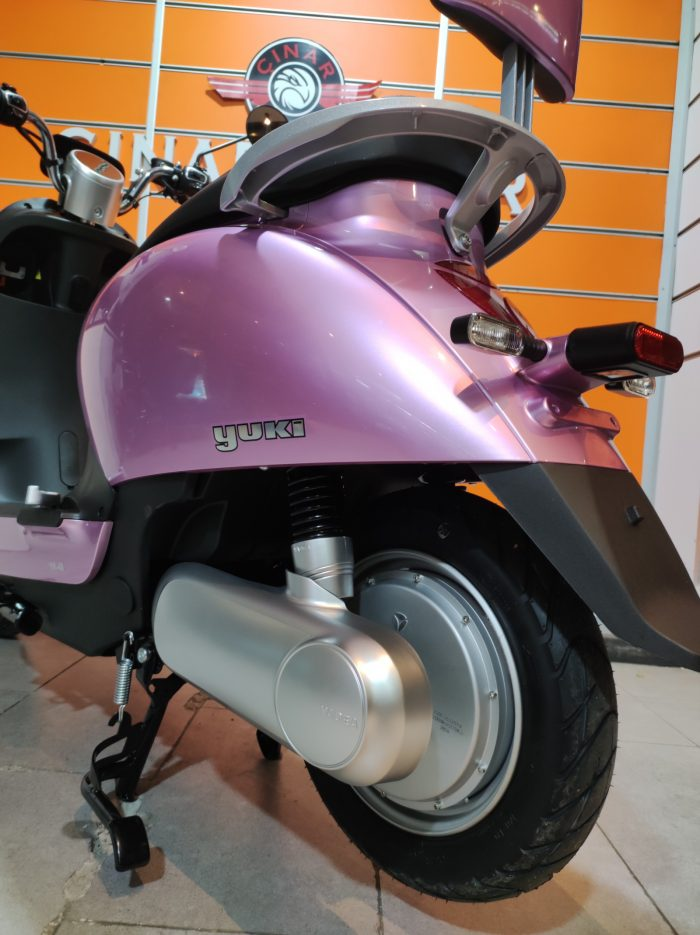 Yuki YK-48 Tron 2021 Model Sıfır Kilometre 2100 W Elektrikli 6
