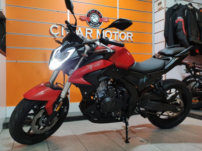 Voge 500R 2021 Model Sıfır Kilometre Senetle Motosiklet 12