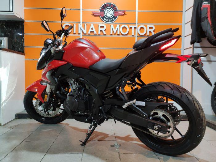 Voge 500R 2021 Model Sıfır Kilometre Senetle Motosiklet 13
