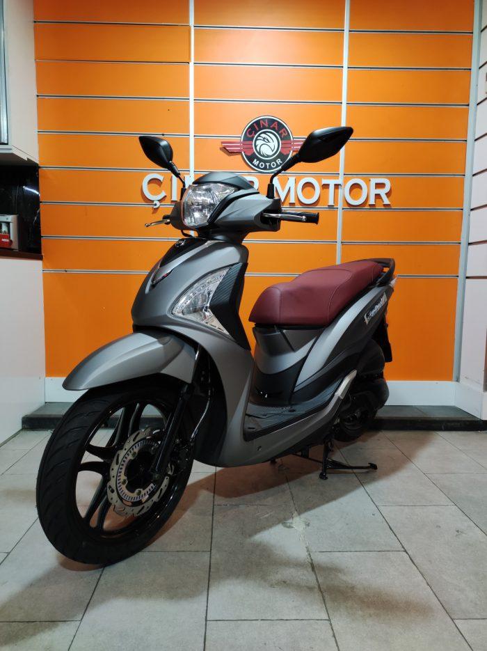 SYM Symphony ST 200i ABS 2021 Model Sıfır Kilometre Senetle Motosiklet 7