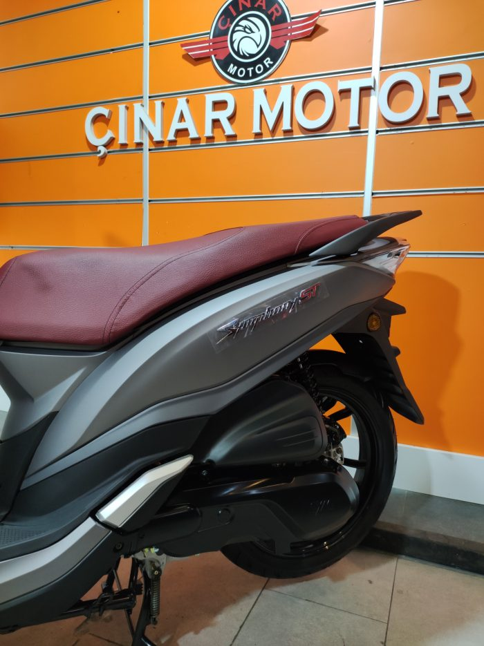 SYM Symphony ST 200i ABS 2021 Model Sıfır Kilometre Senetle Motosiklet 8