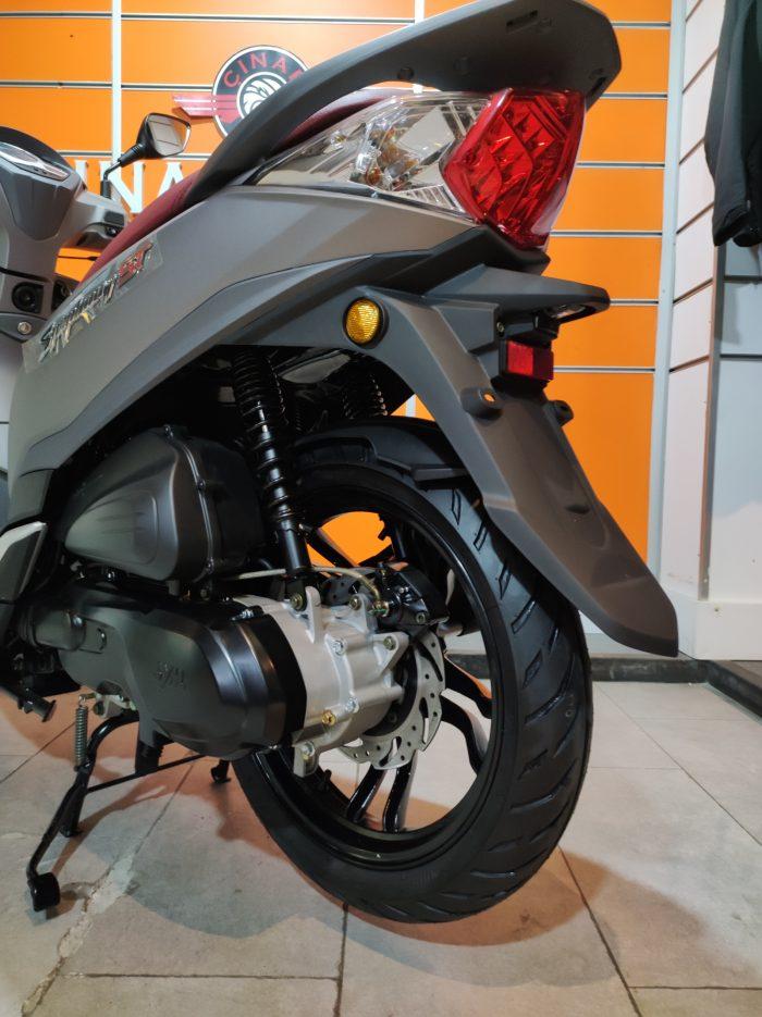 SYM Symphony ST 200i ABS 2021 Model Sıfır Kilometre Senetle Motosiklet 12