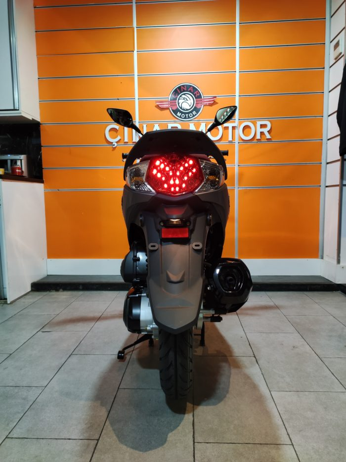 SYM Symphony ST 200i ABS 2021 Model Sıfır Kilometre Senetle Motosiklet 13