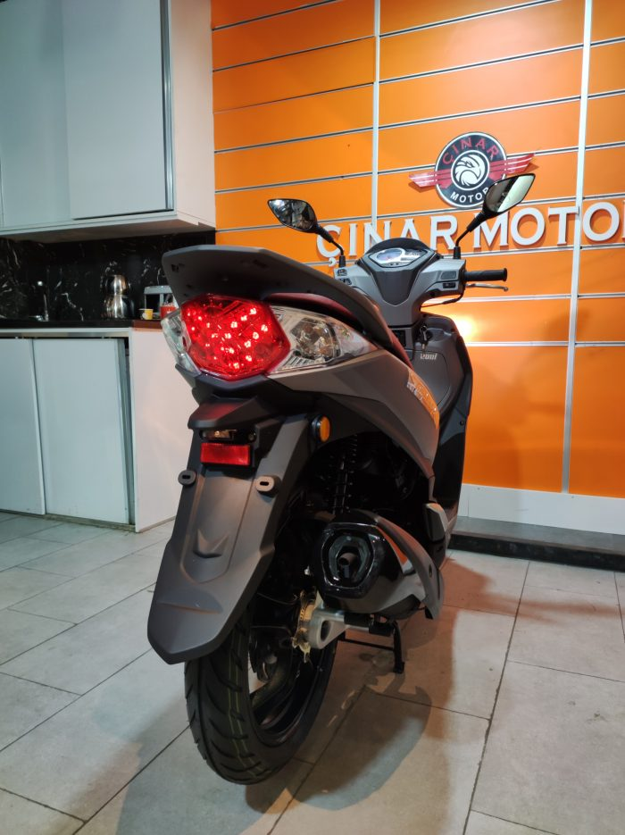 SYM Symphony ST 200i ABS 2021 Model Sıfır Kilometre Senetle Motosiklet 15