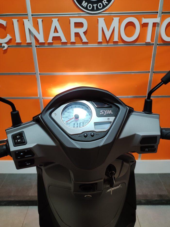 SYM Symphony ST 200i ABS 2021 Model Sıfır Kilometre Senetle Motosiklet 17