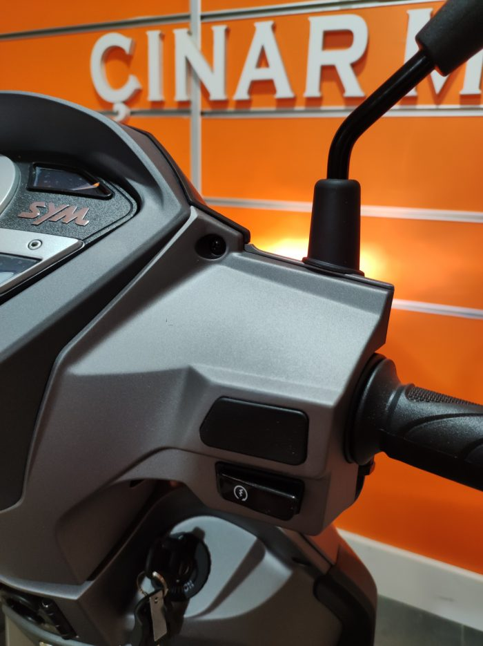 SYM Symphony ST 200i ABS 2021 Model Sıfır Kilometre Senetle Motosiklet 18