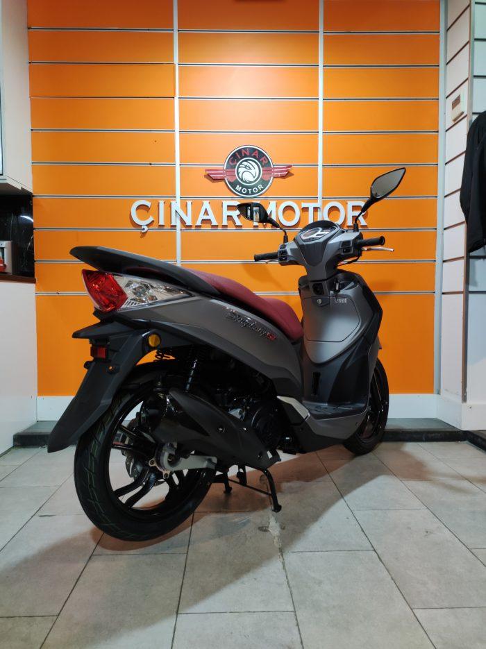 SYM Symphony ST 200i ABS 2021 Model Sıfır Kilometre Senetle Motosiklet 21