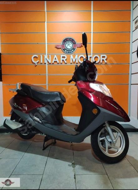 Motolux Cio 110 EFİ 2021 Model Sıfır Kilometre Senetle Motosiklet 1