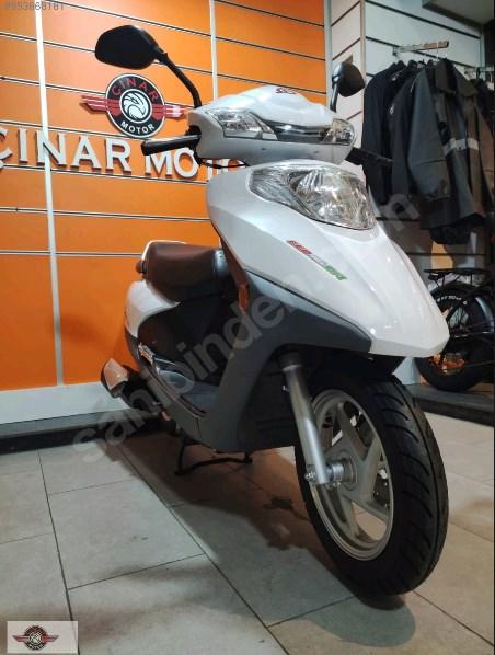 Motolux Cio 110 EFİ 2021 Model Sıfır Kilometre Senetle Motosiklet Beyaz 21