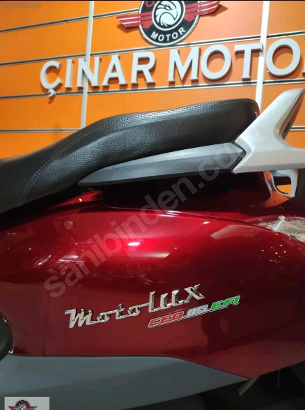 Motolux Cio 110 EFİ 2021 Model Sıfır Kilometre Senetle Motosiklet 12