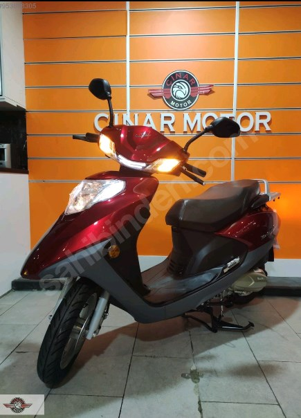 Motolux Cio 110 EFİ 2021 Model Sıfır Kilometre Senetle Motosiklet 2