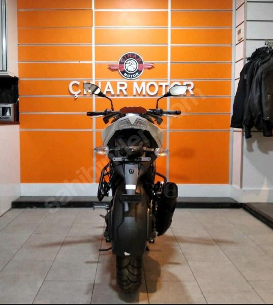 TVS Apache RTR 200 2020 Model Sıfır Kilometre Senetle Motosiklet Beyaz 12