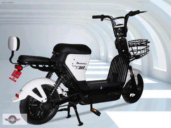 Motolux F3 Model Sıfır Kilometre 24 W Elektrikli 3