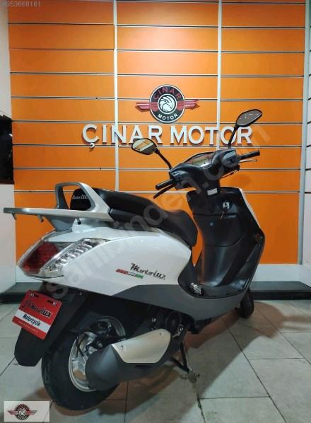 Motolux Cio 110 EFİ 2021 Model Sıfır Kilometre Senetle Motosiklet Beyaz 4