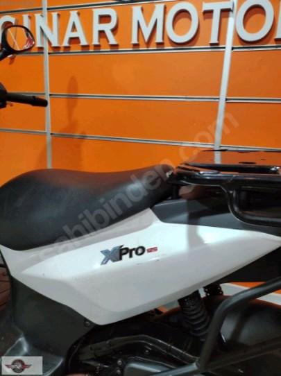 SYM Xpro 125 2018 Model İkinci El Senetle Motosiklet 5