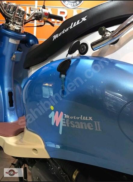 Motolux Efsane 50 2021 Model Sıfır Kilometre Senetle Motosiklet 5