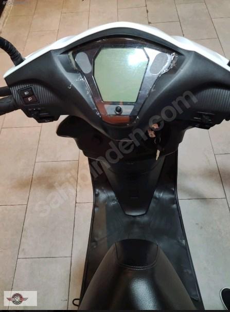 Motolux Cio 110 EFİ 2021 Model Sıfır Kilometre Senetle Motosiklet Beyaz 5