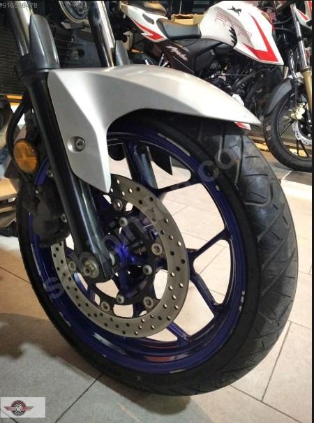 TVS Apache RTR 200 2020 Model Sıfır Kilometre Senetle Motosiklet Beyaz 4