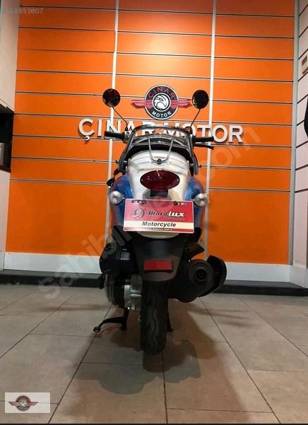 Motolux Efsane 50 2021 Model Sıfır Kilometre Senetle Motosiklet 7