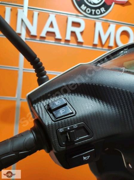 Motolux Cio 110 EFİ 2021 Model Sıfır Kilometre Senetle Motosiklet Beyaz 7